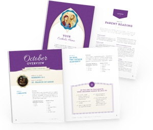 Parent Family of Faith materials