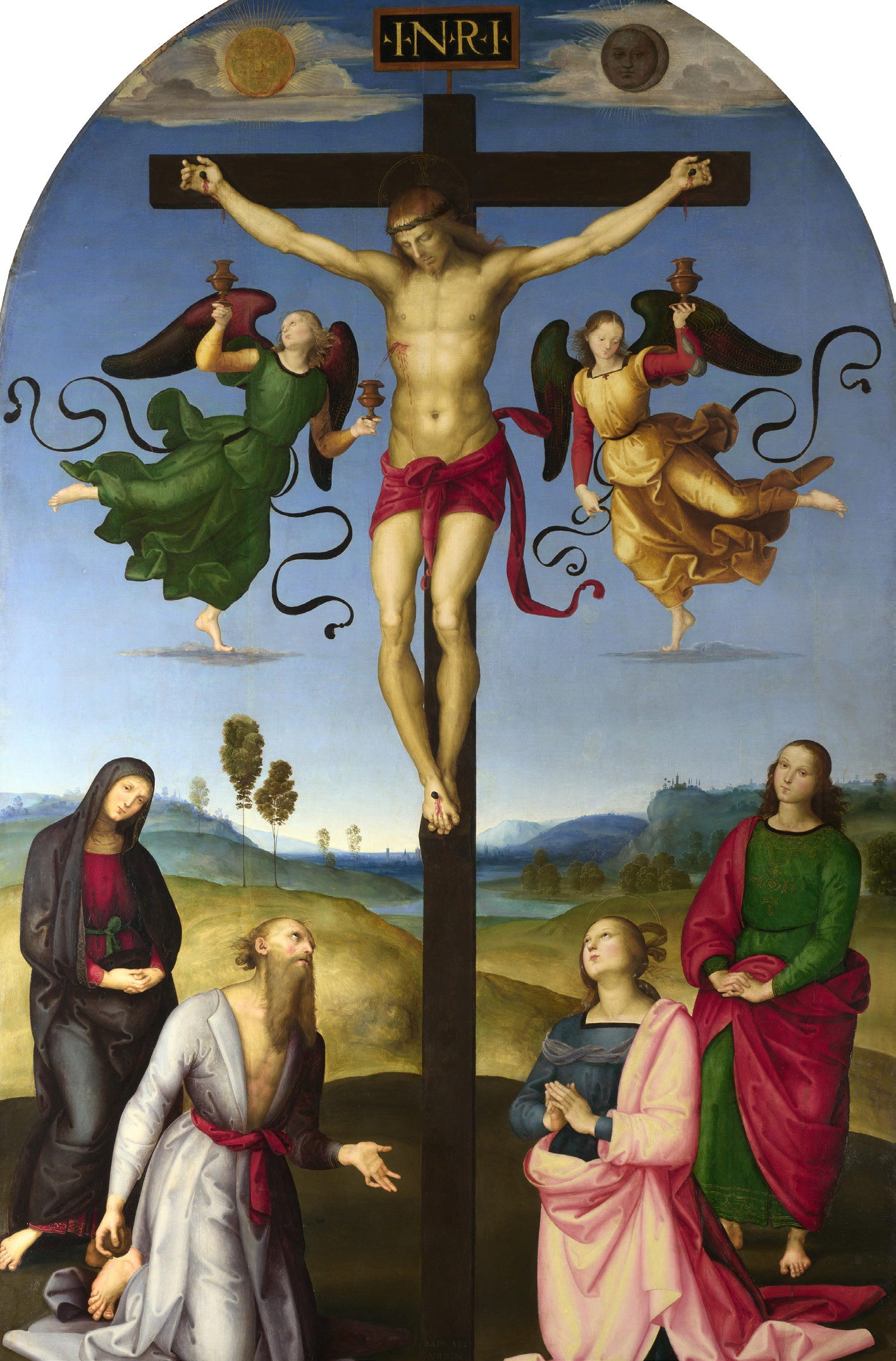 The Crucifixion and the Mond Crucifixion
