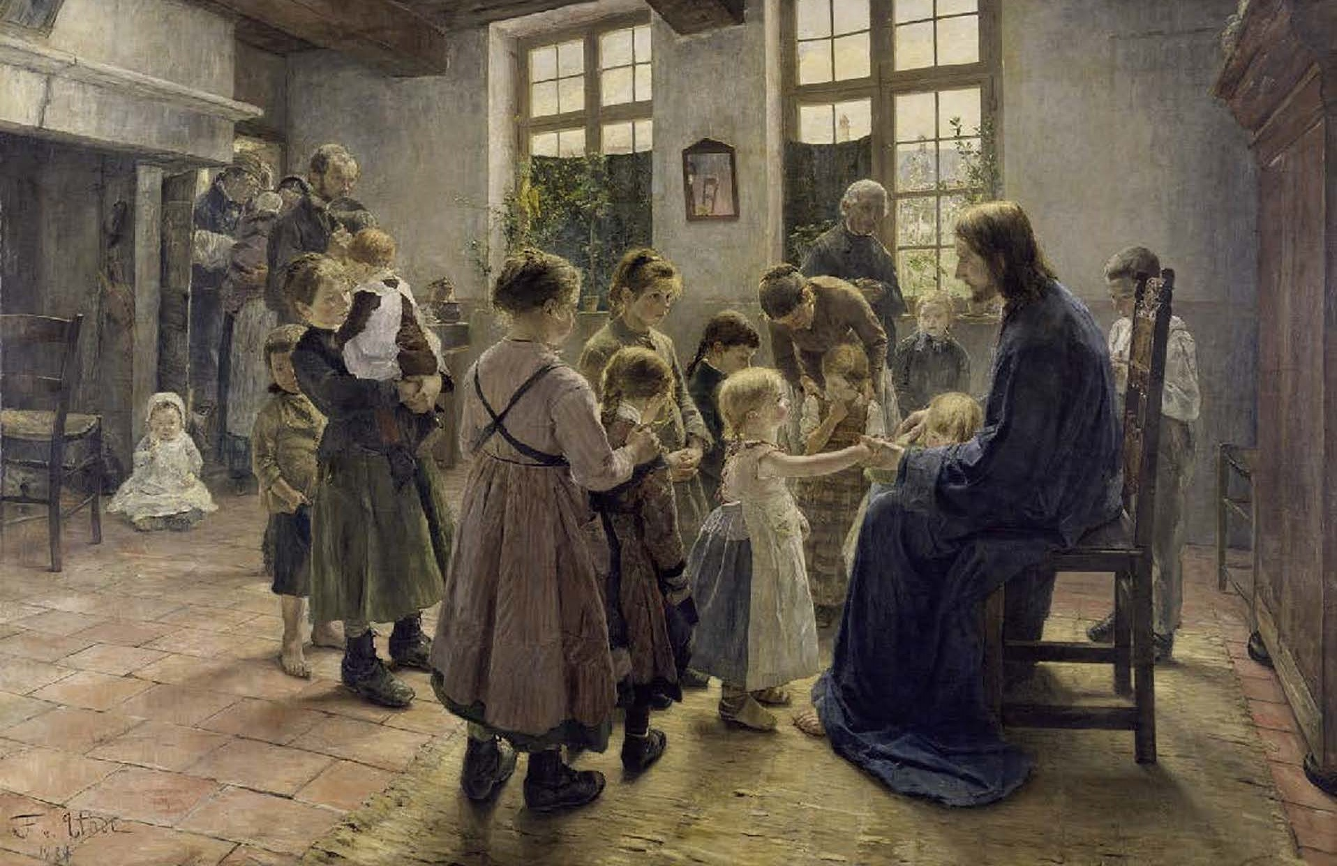 Suffer the Little Children to Come unto Me