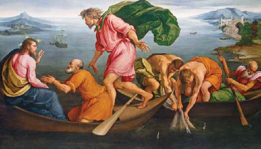 The Miraculous Draught of Fishes: Christ's First Call to the Disciples