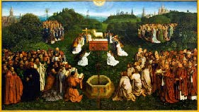Adoration_of_the_Lamb_by_Michiel_Coxie