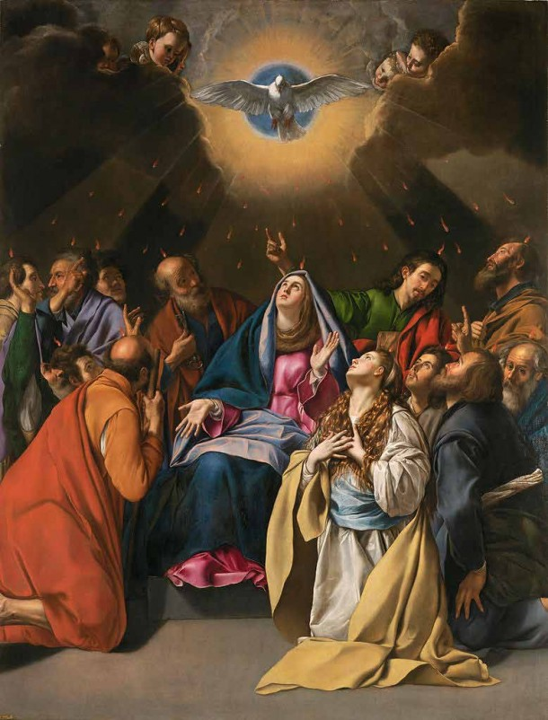 Pentecostes_by_Fray_Juan_Bautista_Maino
