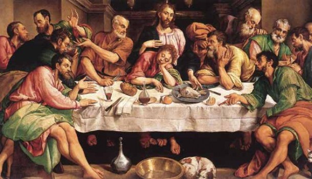 The_Last_Supper_by_Jacapo_Bassano