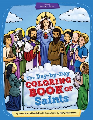Day-by-Day Coloring Book of Saints v1