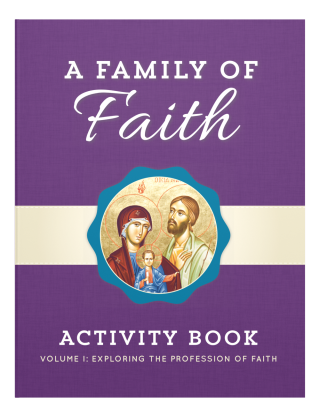 Family of Faith Vol. 1 Children's Book Cover Image