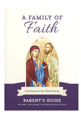 Family of Faith Vol. 1 Parent's Guide Cover Image