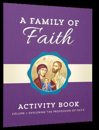 Family of Faith v1 Children Book