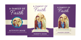 Family of Faith Volume I: The Profession of Faith Cover Image