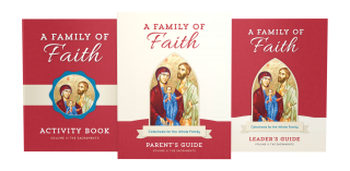 Family of Faith Volume II: The Sacraments Cover Image