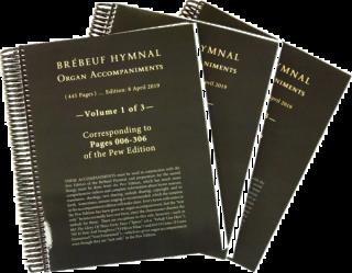 Brebeuf Hymnal Organ Accompaniment